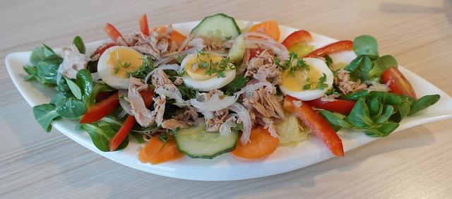 Salat mit Thunfisch