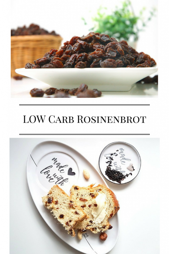 Low Carb Rosinenbrot