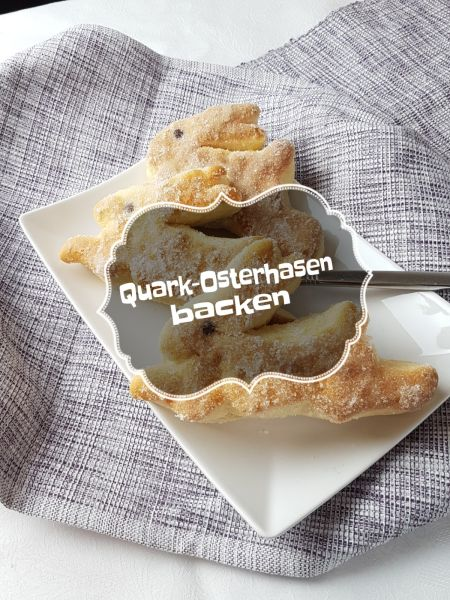 Quark-Osterhasen backen