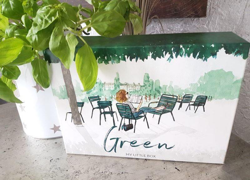 My Little Box April 2017 Green