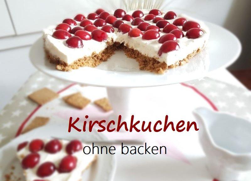kuchen ohne backen kirschkuchen schnell und einfach