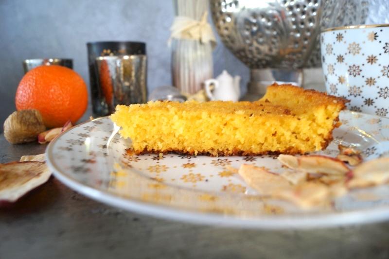 Orangen- Grießkuchen