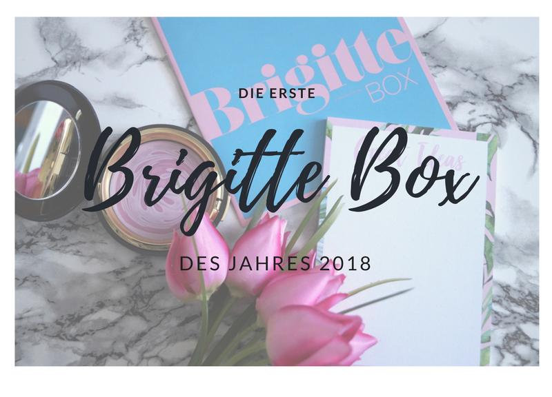 erste Brigitte Box 2018
