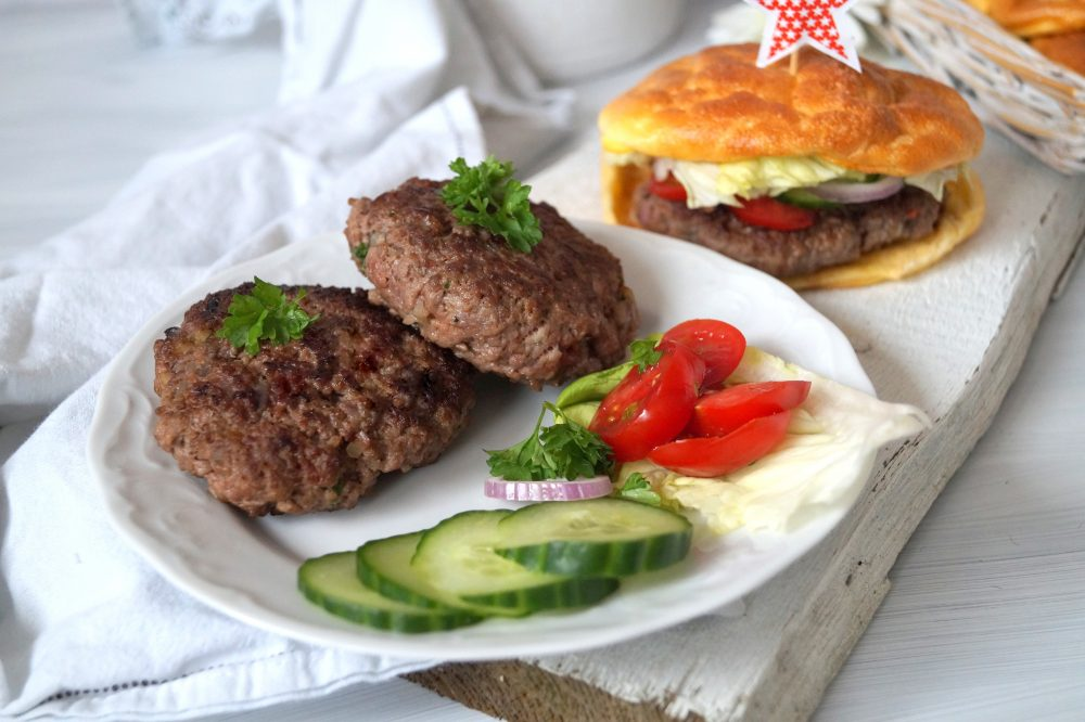Low Carb Burger Low Carb Brötchen