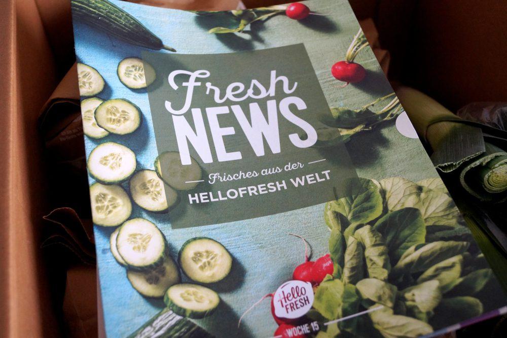 HelloFresh Erfahrungen mit der Essensbox